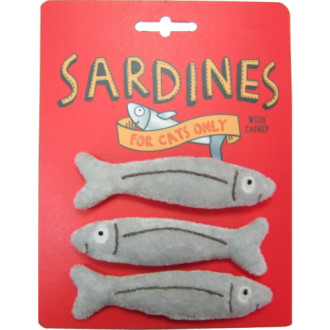 Happy Sardine Catnip Toy