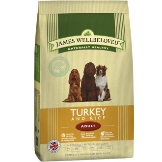 James Wellbeloved Turkey & Rice Adult