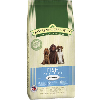 James Wellbeloved Fish & Rice Junior Dog Food