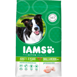 IAMS Chicken Small & Medium Breed Adult Dog Food
