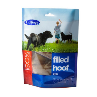 Hollings Filled Hoof Dog Treat
