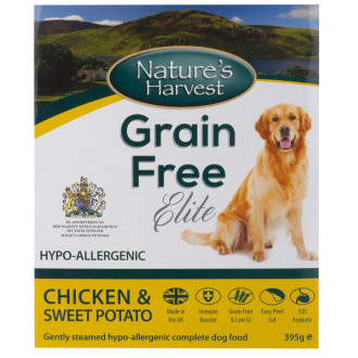 Natures Harvest Grain Free Chicken & Sweet Potato Adult Dog Food