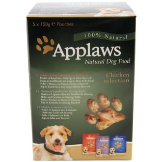 Applaws Chicken Multipack Wet Pouch Adult Dog Food