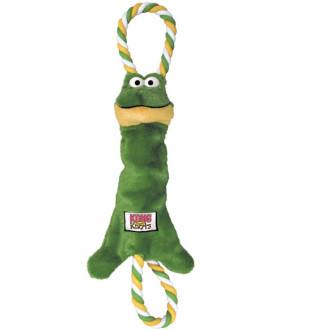 KONG Tugger Knots Frog Dog Toy