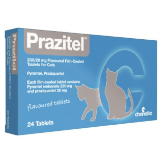 Prazitel Flavour Cat Worming Tablets