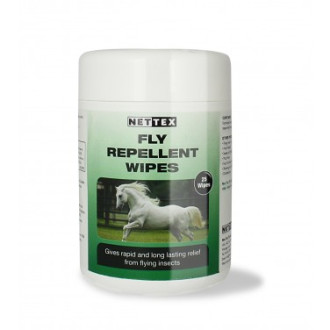 Net-Tex Fly Repellent Horse Wipes