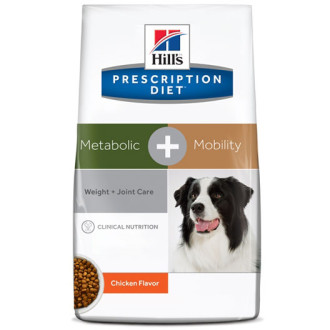 Hills Prescription Diet Metabolic + Mobility & Joint Care Chicken Dog Food