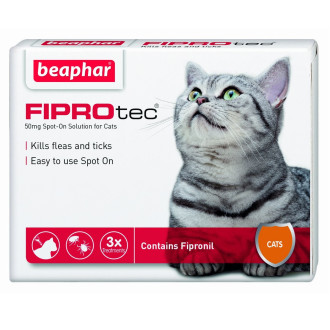 Beaphar FIPROtec Spot On for Cats