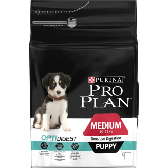 PRO PLAN OPTIGIDEST Chicken Sensitive Digestion Medium Puppy Food