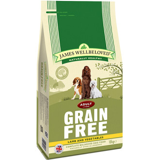 James Wellbeloved Grain Free Lamb & Vegetables Adult Dog Food