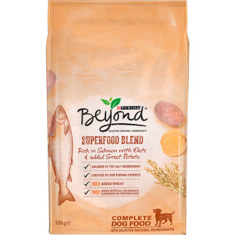 Purina Beyond Superfood Blend Salmon Oats & Sweet Potato Adult