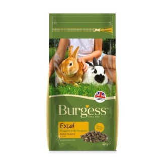 Burgess Excel Nuggets With Oregano Rabbit Food