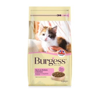 Burgess Complete Chicken Kitten Food