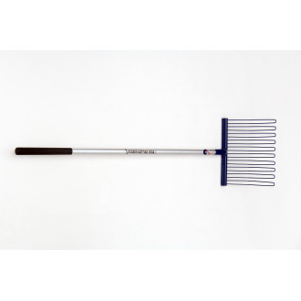 Fyna-Lite Rubber Matting Fork Long Hardwood Handle