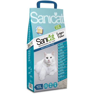 Sanicat Oxygen Power Clean Non-clumping Cat Litter