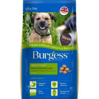 Burgess Free From Complete Lamb Adult Dog Food
