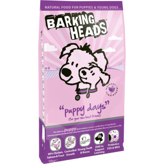 Barking Heads Puppy Days Chicken & Salmon Food