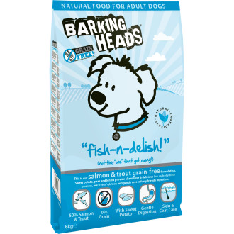 Barking Heads Fish n Delish Grain Free Adult Dog Food