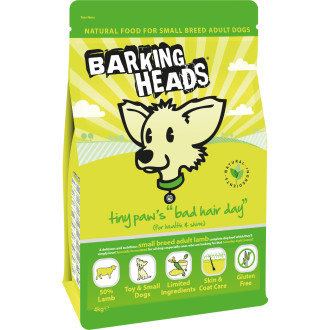 Barking Heads Tiny Paws Bad Hair Day Small Breed Adult Dog Food