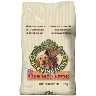 Harringtons Salmon & Potato Dog Food