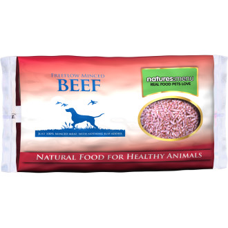 Natures Menu Free Flow Beef Raw Frozen