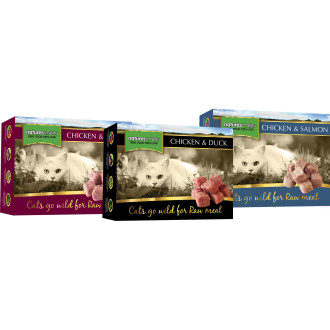 Natures Menu Complete Multipack Nuggets Raw Frozen Cat Food