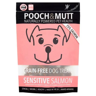 Pooch & Mutt Sensitive Salmon Grain Free Dog Treats