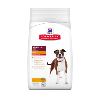 Hills Science Plan Chicken Medium Breed Light Adult Dry Dog Food