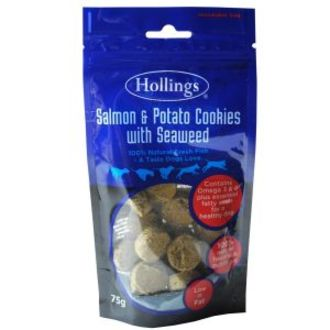 Hollings Salmon & Potato with Seaweed Cookies