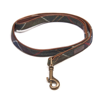 Barbour Wool Touch Tartan Dog Lead