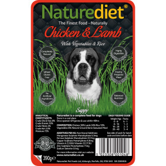 Naturediet Chicken Lamb & Vegetable Dog Food