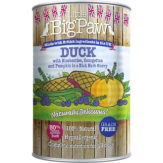 Little Big Paw Duck Blueberries & Pumpkin Dog Food