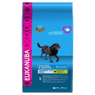 Eukanuba Chicken Large Breed Mature & Senior 6+ Dog Food