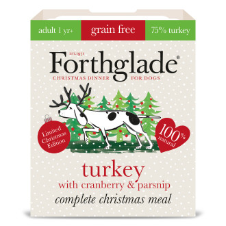 Forthglade Complete Turkey with Cranberry & Parsnip Grain Free Adult Dog Food