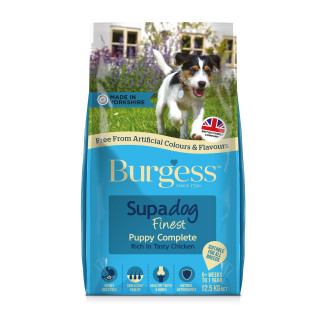 Burgess Supadog Complete Chicken Puppy Dog Food