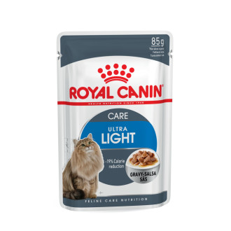 Royal Canin Health Nutrition Ultra Light in Gravy Cat Food
