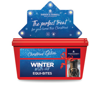 Dodson & Horrell Christmas Equi-Bites Horse Treats
