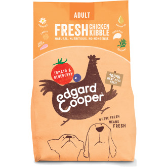EdgardCooper Fresh Chicken, Tomato & Blueberry Adult Dog Food