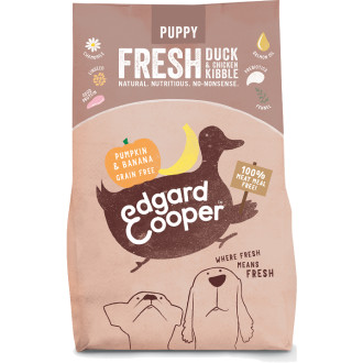 EdgardCooper Fresh Duck & Chicken with Pumpkin & Banana Puppy Food