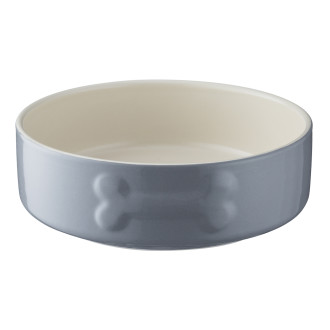 Mason Cash Colour Mix Grey Dog Bowl