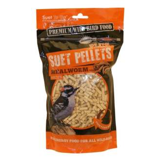 Suet to Go Premium Suet Mealworm Pellets Wild Bird Food