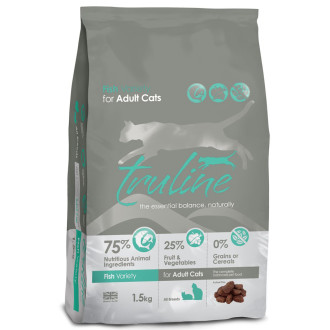 Truline Fish Adult Cat & Kitten Food