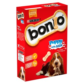 Bonio Puppy with Milk Dog Biscuits