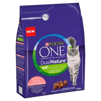 Purina One Dual Nature Salmon Adult Cat Food