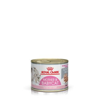 Royal Canin Mother & Babycat Mousse Cat Food 195g