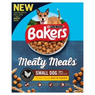 Bakers Meaty Meals Chicken Small Adult Dog Food