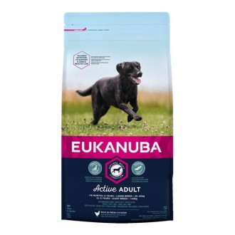 Eukanuba Chicken Large Breed Active Adult Dog Food