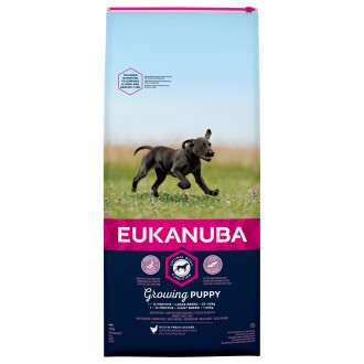 Eukanuba Chicken Large Breed Growing Puppy Dog Food