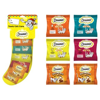 Dreamies Christmas Stocking Cat Treats