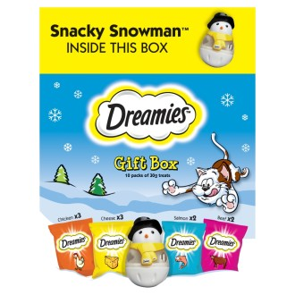 Dreamies Christmas Gift Box for Cats